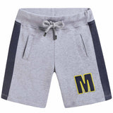 Boys Grey 'M' Shorts