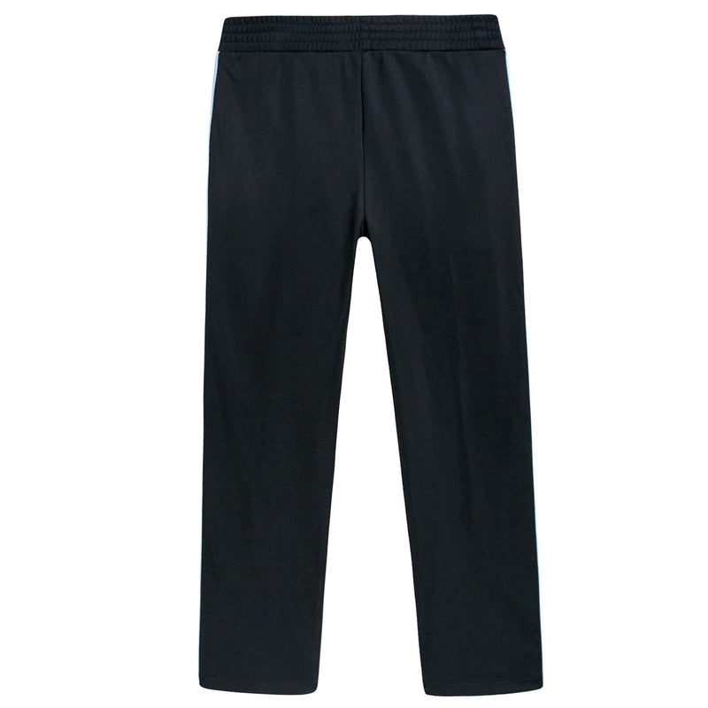 Boys & Girls Black Jersey Trousers With Red Trim