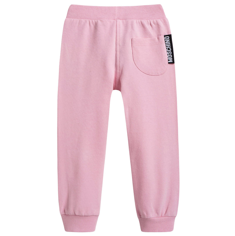 Baby Pink Cotton Toy Tracksuit