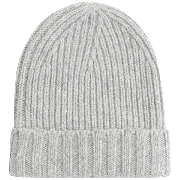 Boys & Girls Light Grey Cashmere Beanie