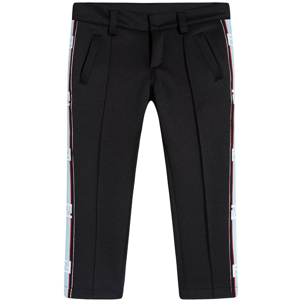 Boys & Girls Black Trousers