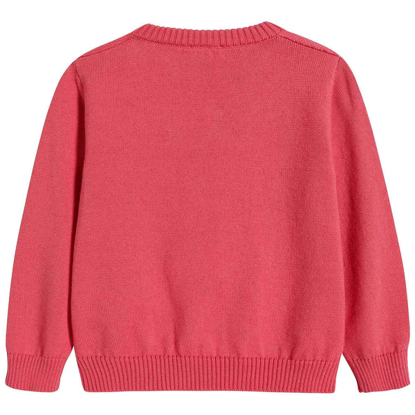 Baby Girls Rosa Antico Cotton Sweater