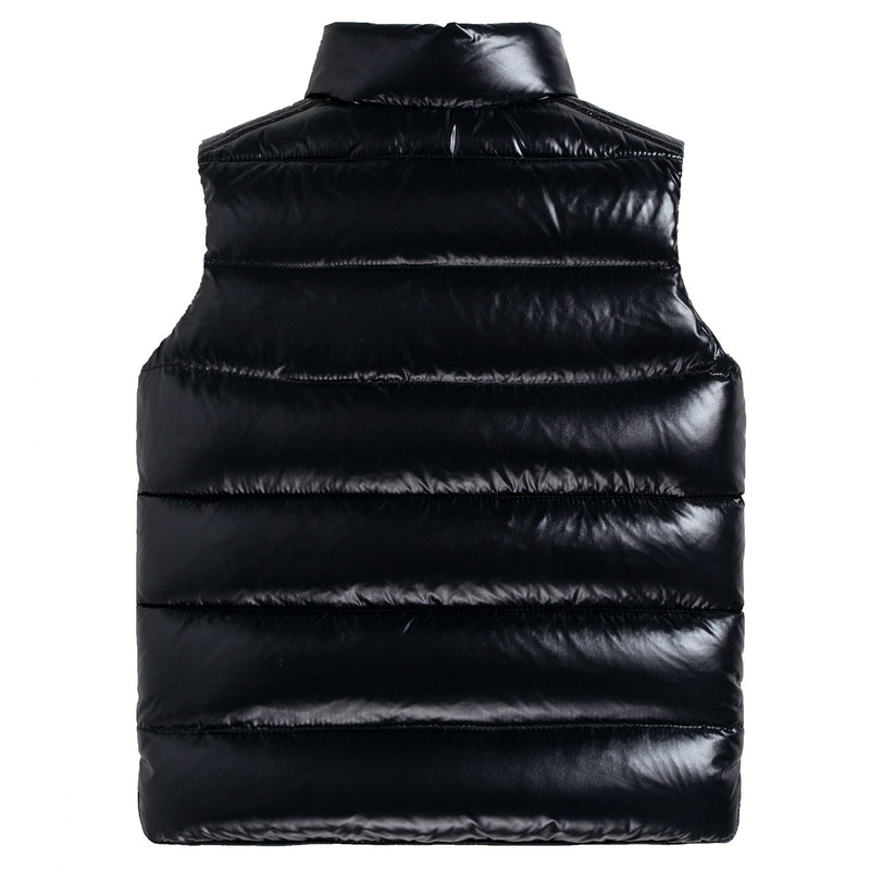 "Boys & Girls Black ""Tib"" Down Padded Gilet"