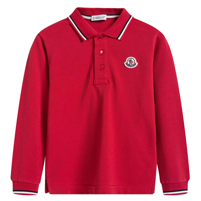 Boys Red Polo Shirt