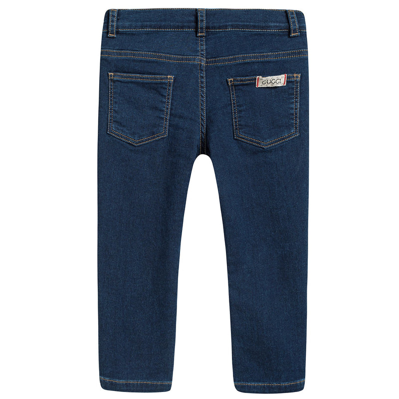 Baby Indigo Blue Slim Fit Jeans