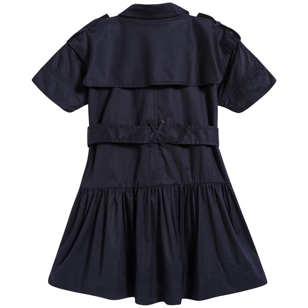 Girls Midnight Cotton Dress