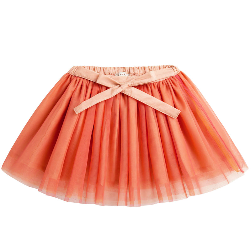Yam Coral Red Skirt