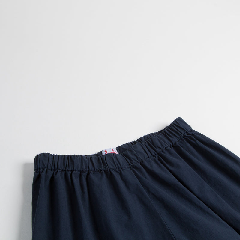 Girls Dark  Blue Cotton Trousers