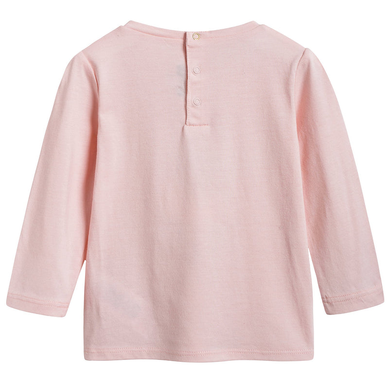 Baby Girls Pink 'Miss Marc' T-shirt