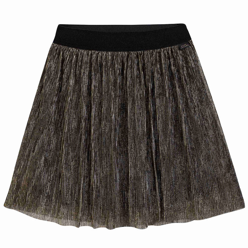 Girls Black & Gold Skirt