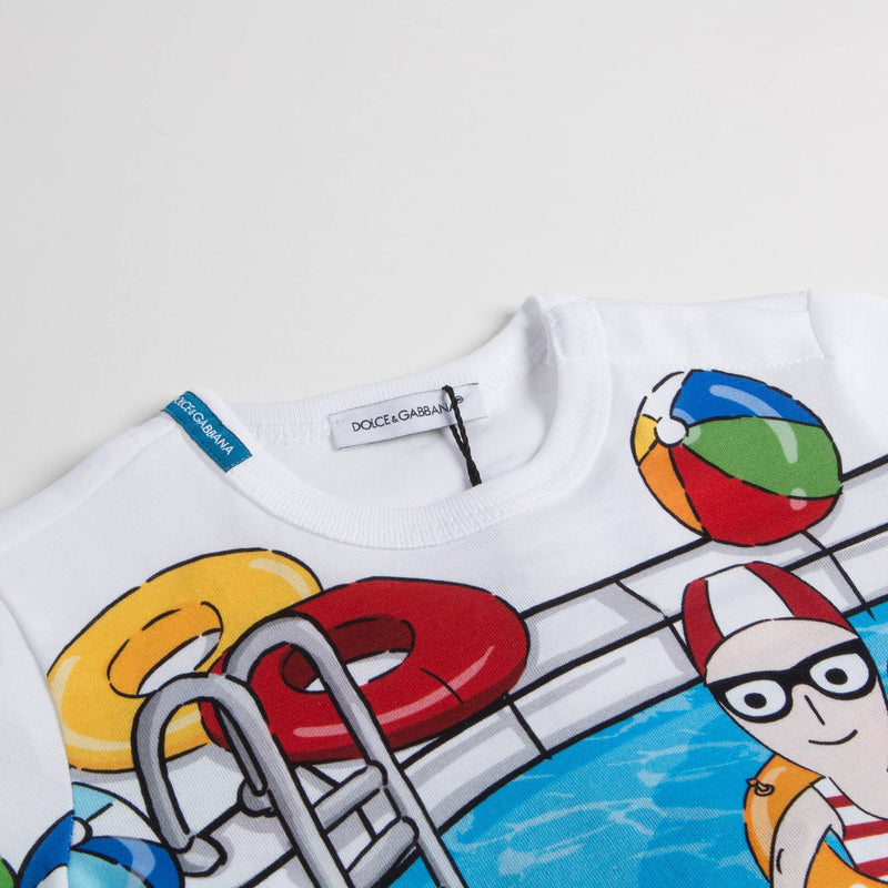 Baby Boys Swimming Pool T-Shirt