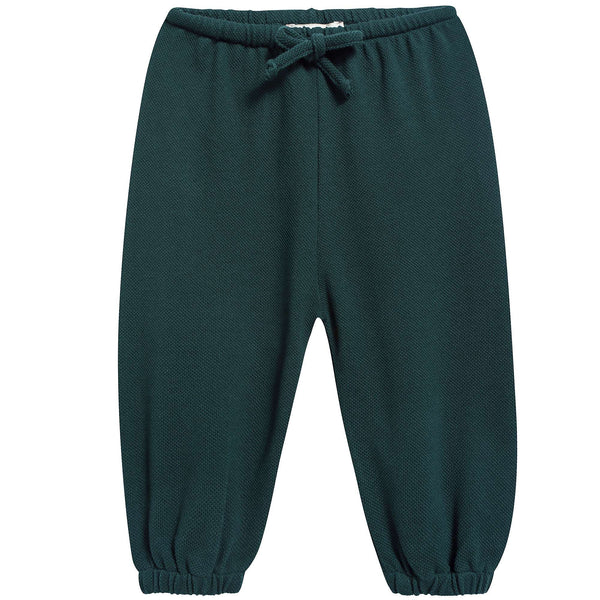 Baby Forest Green Jersey Trousers