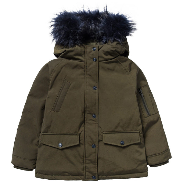 Boys Light Kaki Coat