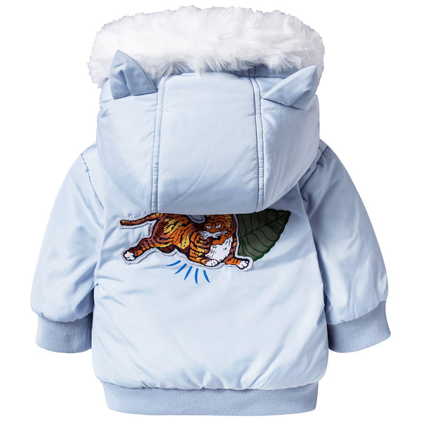 Baby Boys Light Blue Coat
