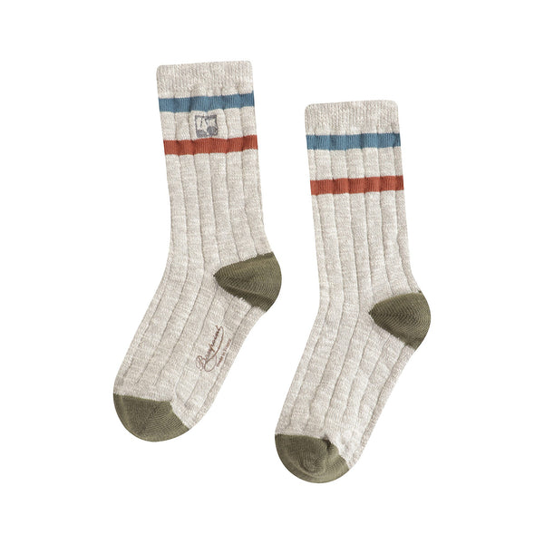 Boys & Girls Light Grey Socks