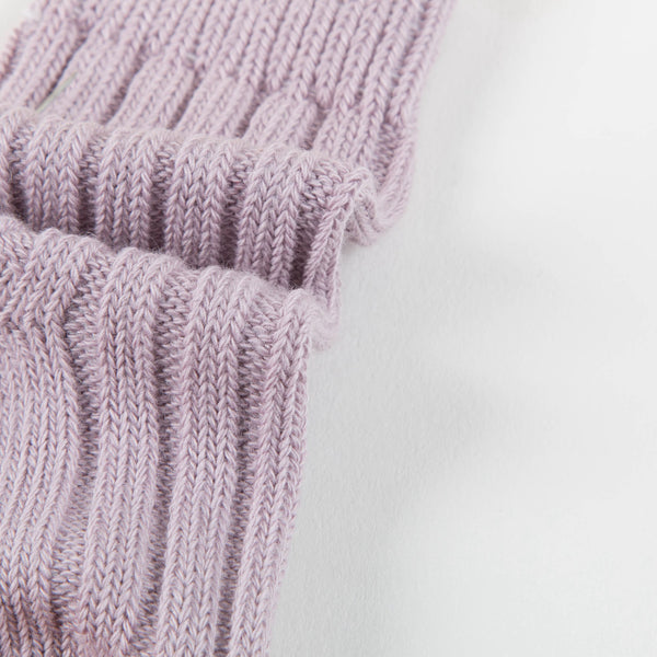 Baby Lavender Cotton Knitwear Socks