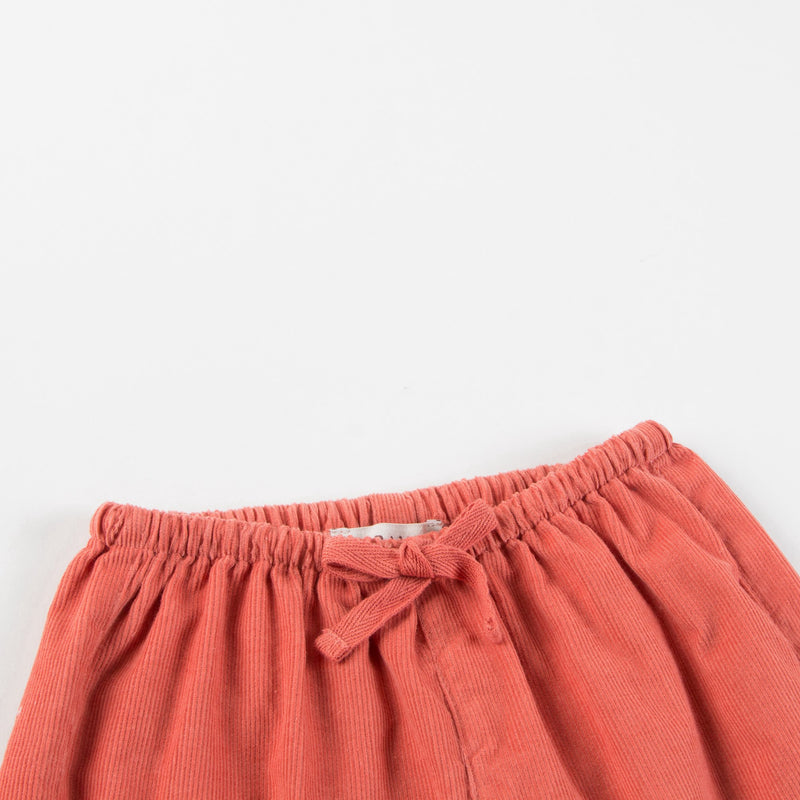 Baby Orange Cotton Trousers