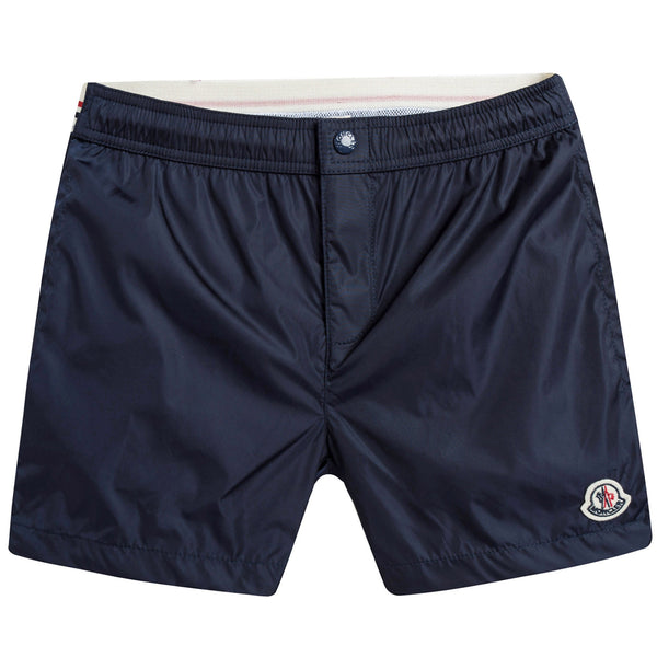 Boys Navy Blue Swim Shorts