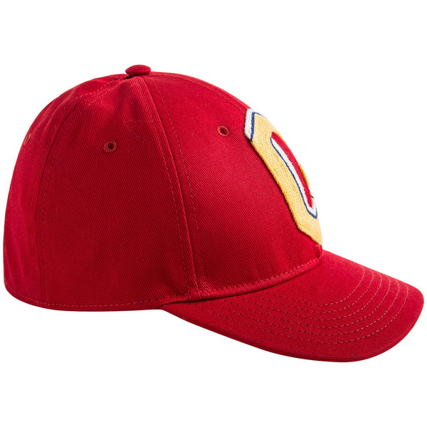 Boys & Girls Red Cotton Hat