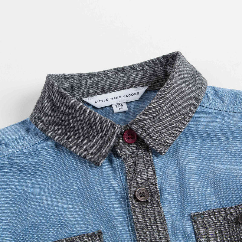 Baby Boys Blue Jeans Shirt