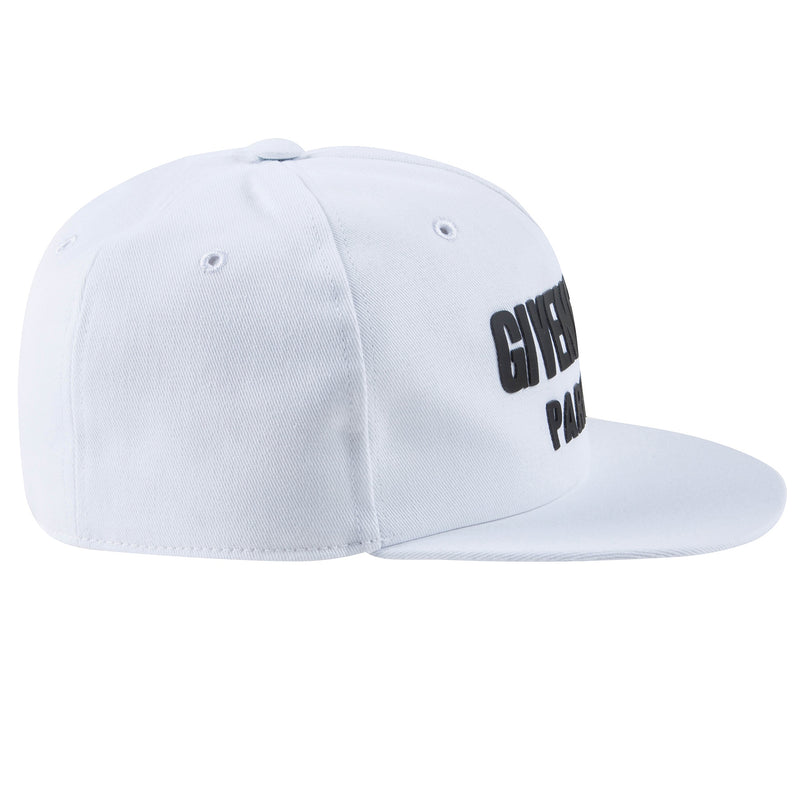 Boys White Logo Cotton Hat