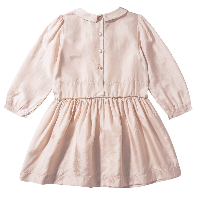 Girls Silk Woven Dress