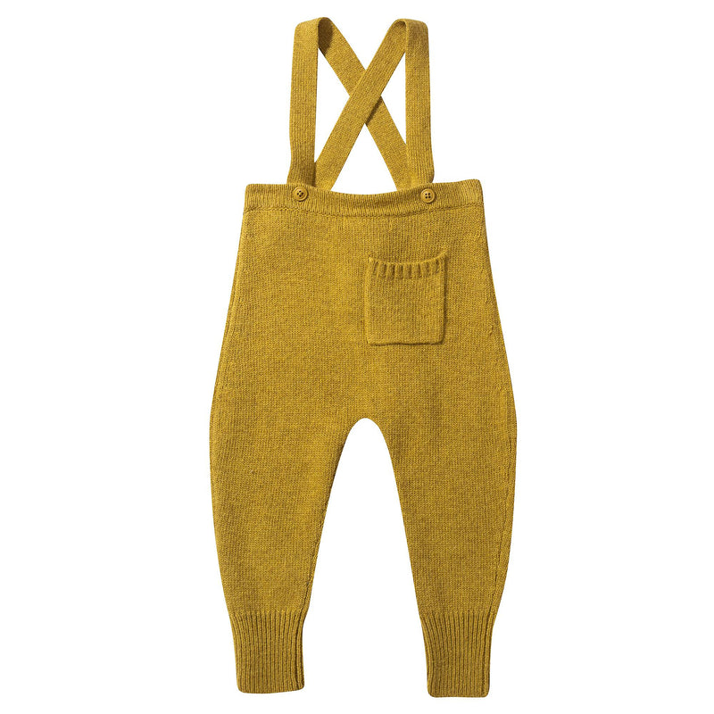 Baby Yellow Knitted Romper