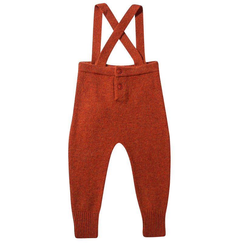 Baby Red Knitted Romper