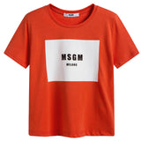 Boys & Girls Orange Logo T-shirt