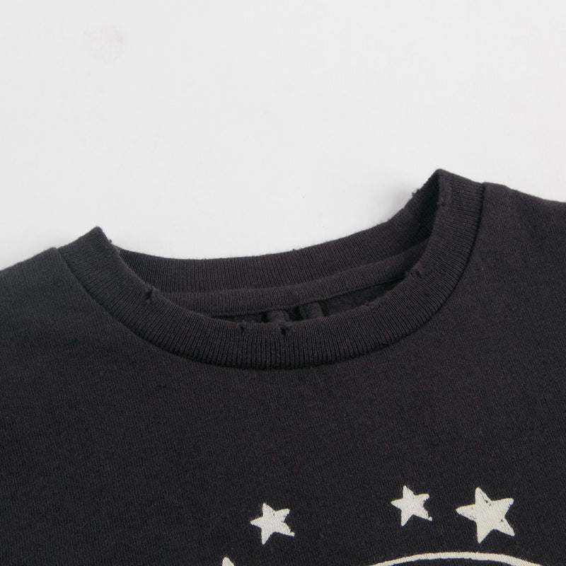 Boys Black Lolly Moon Logo T-shirt