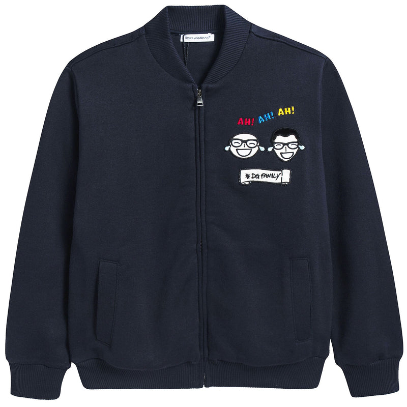 "Boys Blue ""DG Family"" Cotton Coat"