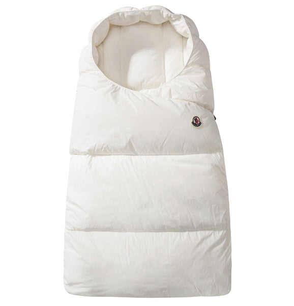 Baby White Down Filled Snowbag