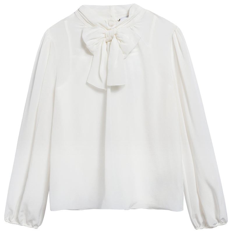 Girls White Blouse