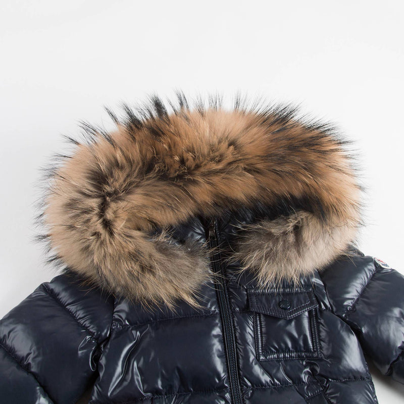 Baby Navy Blue 'K2' Down Padded Jacket