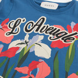 Girls Blue 'L'Aveugle Par Amour' T-Shirt
