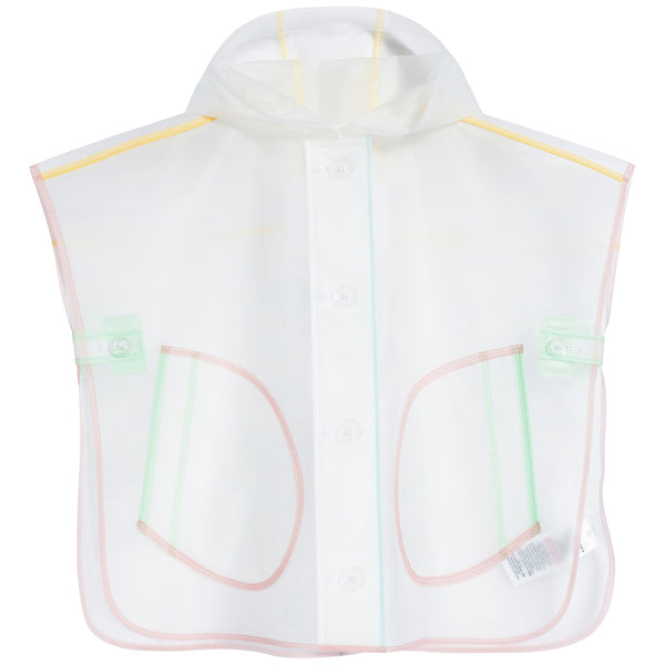 Baby Girls Clear Raincoat