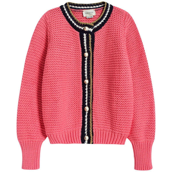 Girls Peach Cardigan