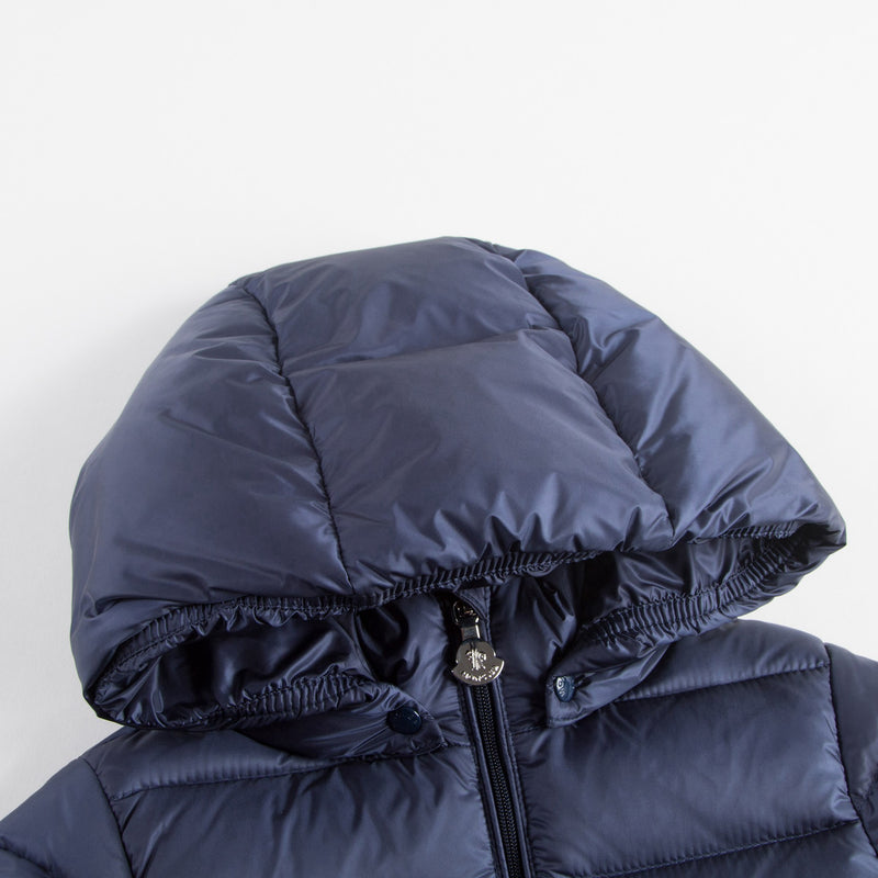 "Baby Girls Blue ""Majeure"" Down Padded Coat"