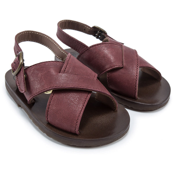 Baby Boys Dark Brown Sandals
