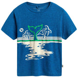 Boys Blue Cotton T-shirt