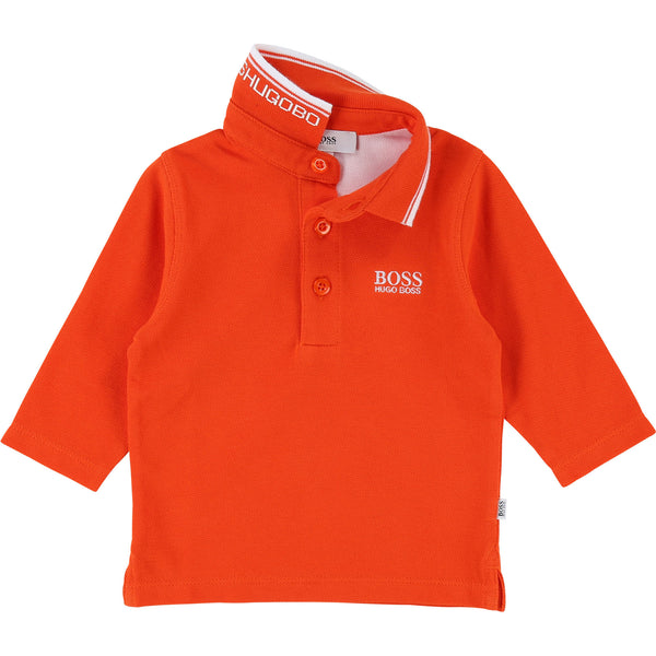 Baby Boys Papaye Cotton Polo Shirt