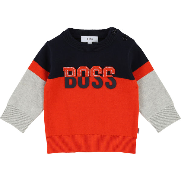 Baby Boys Papaye Cotton Sweater