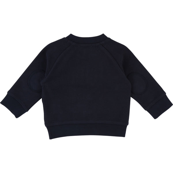 Baby Boys Blue Cotton Sweatshirt