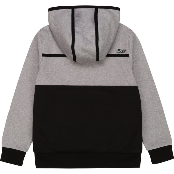 Boys Grey Logo Sweatshirt