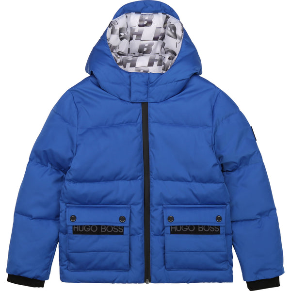 Boys Blue Padded Jacket