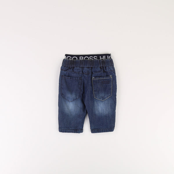 Baby Boys Blue Denim Trousers
