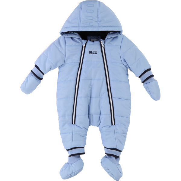 Baby Light Blue Babysuit