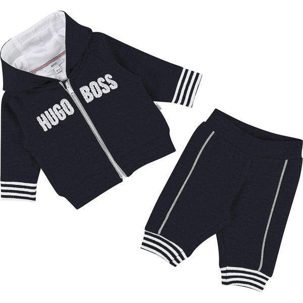 Baby Boys Blue Cargo Cotton Set