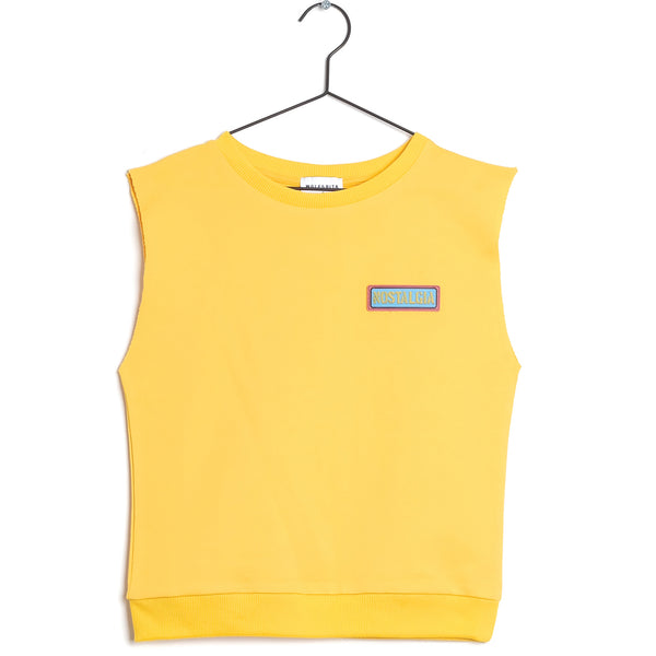 Girls Yellow Cotton Shirt