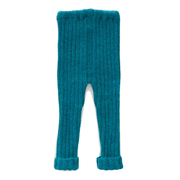 Girls Lack Blue Alpaca Trousers